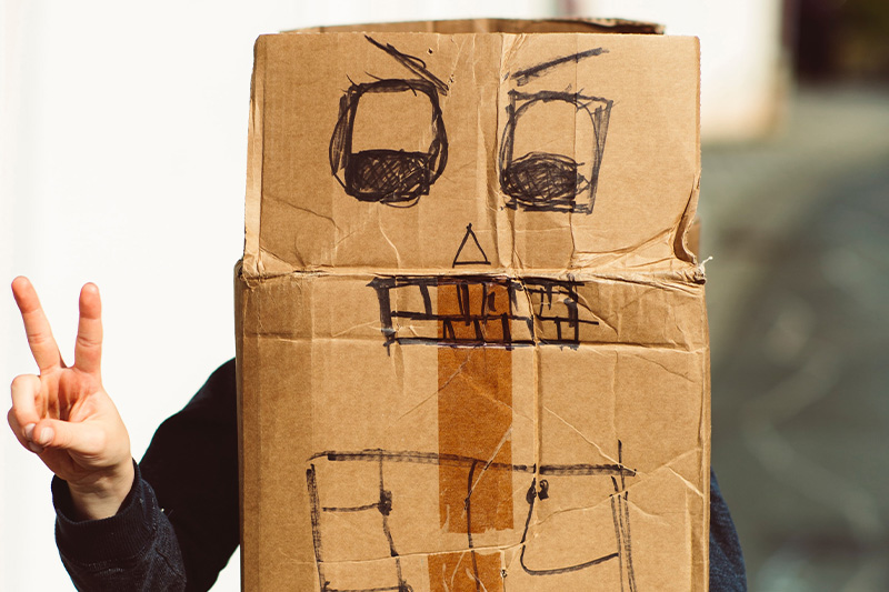 Cardboard Cubby's and build your dream at TKC